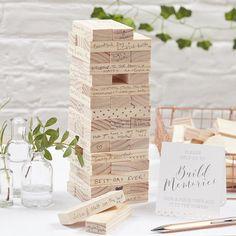 """Hochzeitsgästebuch - Gästebuch """"Turm"""" für das Brautpaar - ein Designerstück von just_lovely bei DaWanda"""
