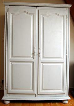 AVANT / APRES : Idees pour moderniser de vieux meubles  (repeints couleur gris galet)