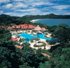 Playa Conchal in Guanacaste, Costa Rica. I was here in 1997 when the Melia was the only resort for miles. I'd love to go back but hear it has changed a lot.