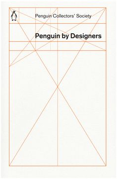 "Another great cover by guest lecturer David Pearson. ""What else would you put on a book about Penguin design but the Penguin design grid?"""