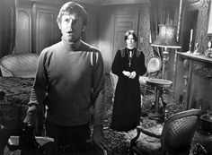 Roddy McDowell as Benjamin and Pamela Franklin as Florence in The Legend of Hell House, based on the book Hell House Turner Classic Movies, Classic Horror Movies, Horror Films, Horror Icons, Scary Movies, Good Movies, Excellent Movies, Awesome Movies, Movies