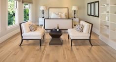 I LOVE THE CHAIRS - Sandbank Maple PERGO® American Era Solid Hardwood Flooring