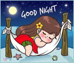 Cute Chibi Couple, Cute Couple Cartoon, Cute Love Cartoons, Cute Cartoon Girl, Cute Couple Art, Good Night I Love You, Good Night Gif, Good Night Image, Good Night Quotes