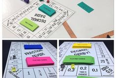 Fractions and Decimals Board Game Bundle!