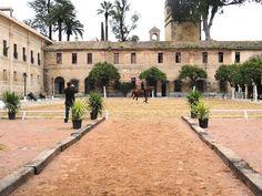 Las Caballerizas Reales, se construyeron en 1570 por orden de Felipe II, gran amante de los caballos, para dar alojamiento y criar estos animales de raza.