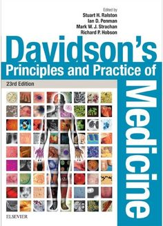 Download Davidson S Principles And Practice Of Medicine 23rd Edition Pdf Free Original Print Cme Cde Medical Textbooks Davidson Medicine Medicine Book