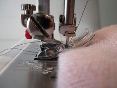 tips for sewing through many thick layers of fabric