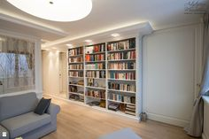 biblioteczka domowa - zdjęcie od Artystyczna Manufaktura - klasyczne meble na wymiar - Salon - Styl Tradycyjny - Artystyczna Manufaktura - klasyczne meble na wymiar