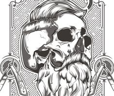 "Consulta este proyecto @Behance: ""Unicos Barbershop"" https://www.behance.net/gallery/34288985/Unicos-Barbershop"