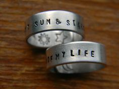 my sun & stars   my moon of my life matching his & hers rings   game of thrones