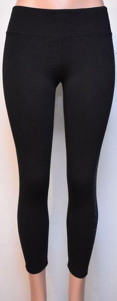 f762b53459 DKNY Women's Sport Leggings (DPTP1043-002-BBL) Color Black, Size Medium