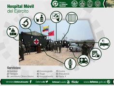 an infographic #design #graphicdesign #vector #midena #uio #ecuador #mockup #military #hospital