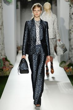 Mulberry Spring Summer 2013 on the catwalk.