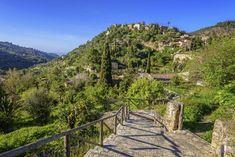 Deia Mallorca, Garden Bridge, Outdoor Structures, Mountains, Places, Holiday, Nature, Travel, Spain