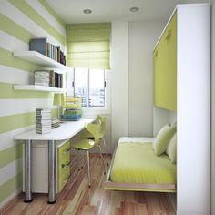 Fold Away Beds Ikea | Kinderzimmer Gestalten Tapeten Horizontale Streifen  Grün Weiß