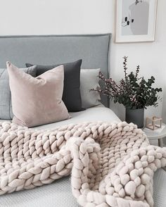 Beautiful Scandi style bedroom decor by featuring Yorkelee Prints Expressions pastel abstract wall art print. Victoria's room x Dream Bedroom, Home Bedroom, Bedroom Decor, Bedrooms, Bedroom Furniture, Scandi Bedroom, Interior Livingroom, Kitchen Interior, Home And Deco
