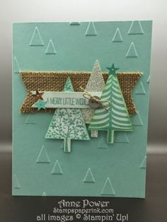 Stamps, Paper, Ink Create!: Just fun Festival of trees