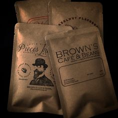 BROWN'S CAFE AND BEANS Single Drip Pack