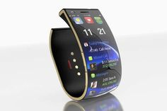 Mood-Monitoring Smartphone Bracelets - The Smile from EmoPulse is Both a Smartphone and a Bracelet