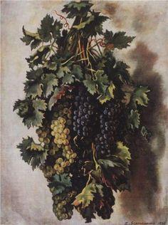 Grapes - Zinaida Serebriakova