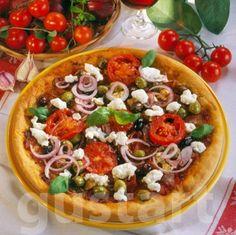 Feta, Vegetable Pizza, Quiche, Vegetables, Quiches, Vegetable Recipes, Veggies