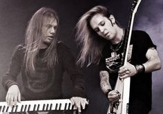 I just fucking love metal Alexi Laiho, Children Of Bodom, Ville Valo, Metalhead, My Music, Cob, Concert, 2000s, Finland