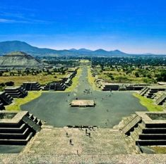 "Teotihuacan, Mexico - the ancient city of pyramids outside Mexico City known as the place where ""Man becomes God"""