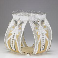 Jeanette Ahlgren | 'Heritage'.  Woven bead sculpture