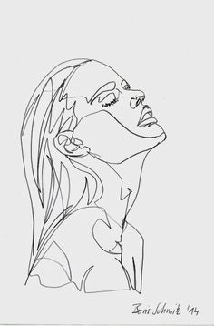 Drawing Woman This is a one line contour drawing I picked because even if the drawing is only kind of an outline and not much detail, the artist portrayed emotion. It looks like as if the women in the drawing was feeling some stress or is calming down. Art And Illustration, Photography Illustration, Design Illustrations, Drawing Sketches, Art Drawings, Drawing Portraits, Drawing Faces, Biro Drawing, Tumblr Sketches