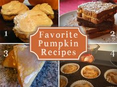 Favorite Fall Food Recipes with Apples and Pumpkin | Newlywed SurvivalNewlywed Survival
