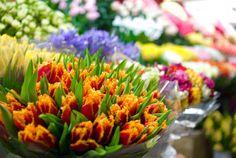 market flower stall