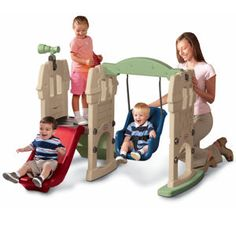 From Little TikesEndless Adventures® SwingAlong™ Castle from #littletikes -
