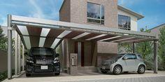 住まいの敷地を有効活用する賢いカーポート空間。