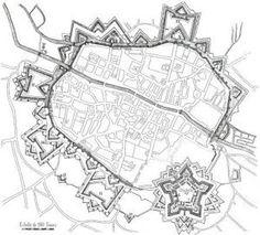 Plan de la fortification sous Louis XIV Louis Xiv, Fortification, How To Plan