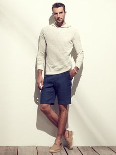 Italia Independent Linen Bermuda Shorts                              Linen Bermuda Shorts