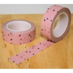 masking tape petits cœurs