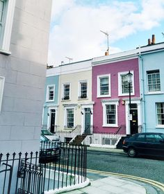 And just around the corner...  #traveltuesday #nottinghill #pastel #london