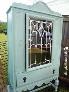 Simple Home Life: The Antique Hutch Makeover