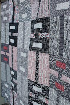 Moda Bake Shop: Urban Shades Quilt Love the quilt, love the fabric, love the quilting, and very easy!