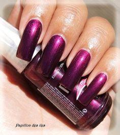 Purple nails - #nails #nailswatch #nailpolish #parlezenauxcops #metallicnails - bellashoot.com / bellashoot iPhone & iPad app