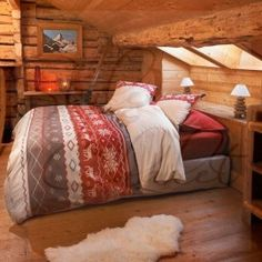 1000 images about housse de couette montagne on pinterest chalets tricot and style. Black Bedroom Furniture Sets. Home Design Ideas