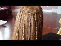 Esse penteado é fácil de fazer e pode ser reciclado! :D Com ele você pode fazer vários penteados lindos e um deles é ideal para quando for torcer por seu time!