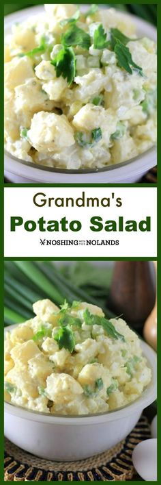 Grandma's Potato Salad by Noshing With The Nolands, is the best potato salad and great for picnics, BBQs and potluck.