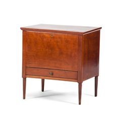 Kentucky Federal Sugar Chest with One Drawer Style Shaker, Southern Furniture, Blanket Chest, Dovetail Drawers, Furniture Styles, Early American, Antique Furniture, Kentucky, Furniture