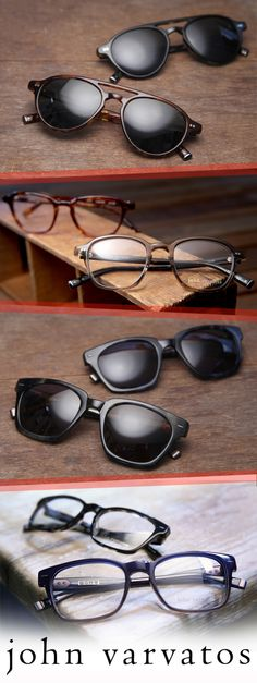 New John Varvatos frames are taking over the blog today! Go see the goods for yourself: http://ht.ly/ODB5Q