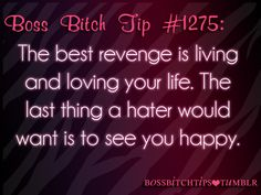 Boss Bitch Tips ♔ And I'm very happy bitch and I told him that when he asked me Click---> https://www.LawofAttractionSecrets.ca