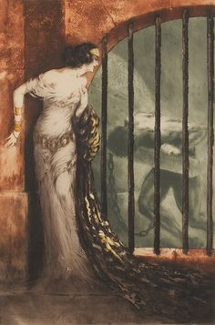 "Louis Icart (French, 1888-1950), ""Dalila"""