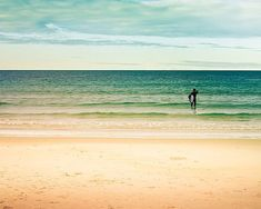 Beach photography vintage inspired surfer photo by mylittlepixels