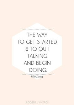 Get Started-The Crafted Life