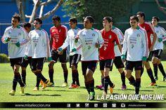 Entrenamiento de la Sub20 Parque España #seleccionmexicana #mexico #futbol #soccer #sports #futbolentrenamiento